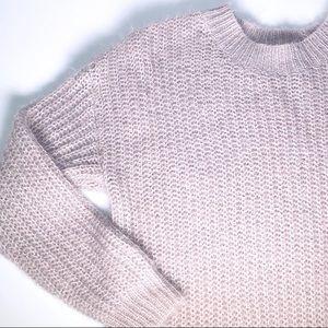 Charlotte Russe Lavender Sweater Dress